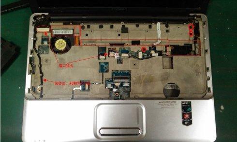 惠普cq40 cq45 cq系列拆机图解和拆机视频教程